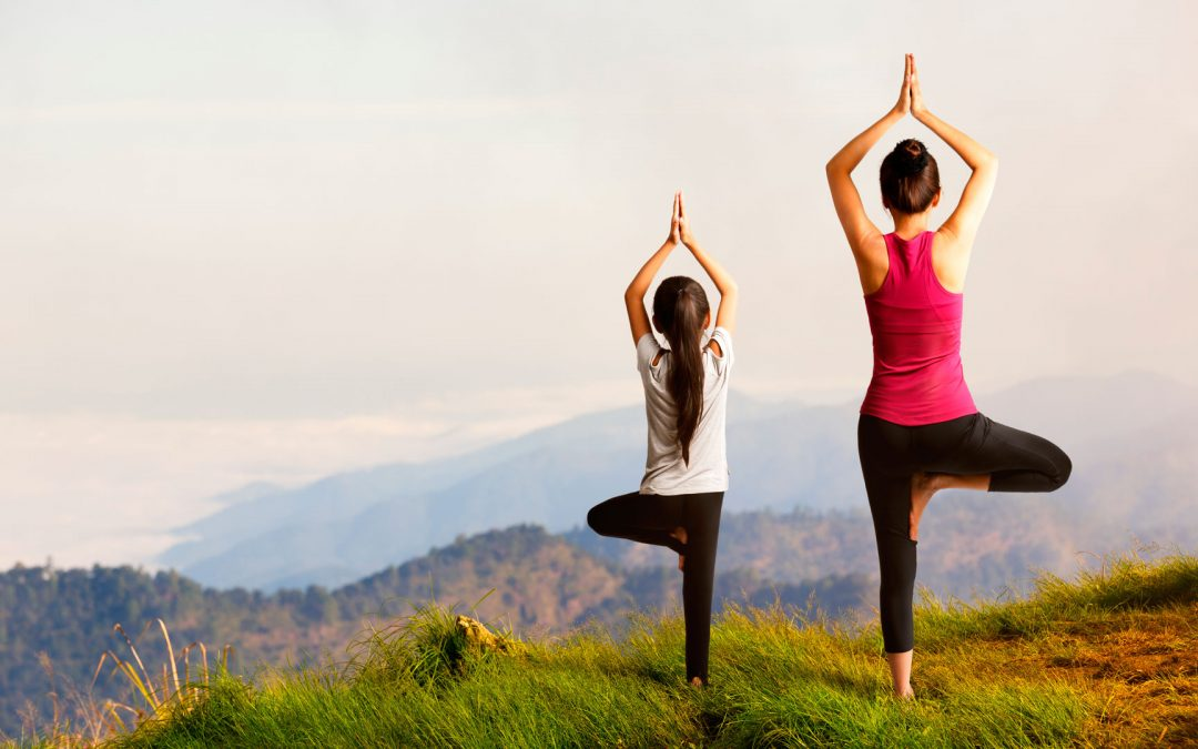 Ouder-kind yoga start in september